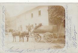 Pferdegespann - Orig. Fotokarte - 1903     (171020) - Cartoline