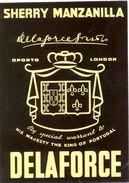 1366 - Espagne - Andalousie - Sherry Manzanilla - Delaforce - Etiquettes