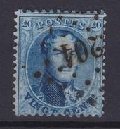 N° 15 A LP 204 LA LOUVIERE - 1863-1864 Médaillons (13/16)