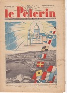 LE PELERIN 22 Janvier 1939 Congres Eucharistique à Alger, Tunisie Française, Diocèse De Mende, La Bête Du Gévaudan - Books, Magazines, Comics