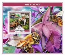 SOLOMON ISLANDS 2017 Bees & Orchids - Solomon Islands (1978-...)
