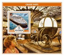 SOLOMON ISLANDS 2017 Cruise Ships - Solomon Islands (1978-...)