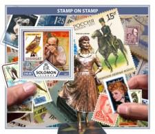 SOLOMON ISLANDS 2017 Stamps On Stamps - Solomon Islands (1978-...)