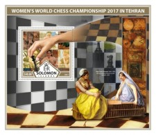 SOLOMON ISLANDS 2017 Chess - Solomon Islands (1978-...)