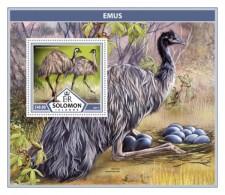 SOLOMON ISLANDS 2017 Emus - Solomon Islands (1978-...)