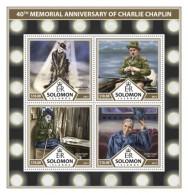 SOLOMON ISLANDS 2017 Charlie Chaplin - Solomoneilanden (1978-...)