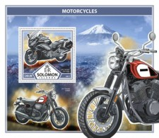 SOLOMON ISLANDS 2017 Motorcycles - Solomoneilanden (1978-...)