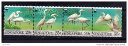 SINGAPOUR, WWF, Oiseaux. Yvert N° 684/87 ** Neuf Sans Charniere. MNH. - W.W.F.