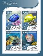 SOLOMON ISLANDS 2017 Marine Life Reef Fishes - Solomon Islands (1978-...)