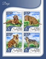 SOLOMON ISLANDS 2017 Dogs - Solomon Islands (1978-...)