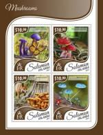 SOLOMON ISLANDS 2017 Mushrooms - Salomon (Iles 1978-...)