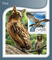 SOLOMON ISLANDS 2017 Owls - Solomoneilanden (1978-...)