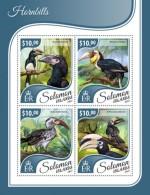 SOLOMON ISLANDS 2017 Hornbills - Solomoneilanden (1978-...)
