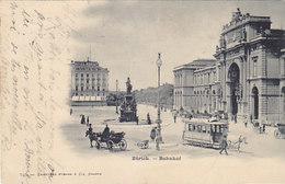 Zürich - Das Rösslitram Beim Bahnhof - 1901     (P-93-50318) - ZH Zurich