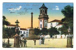 CPA ESPAGNE ALGECIRAS Plaza Alta é Iglesia De La Palma - Cádiz