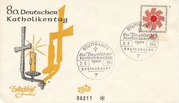GERMANY - 1964 The 80th Anniversary Of The German Day Of Catholism  FDC358 - [7] République Fédérale