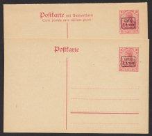 Etappe 9. Armee, Einfache Und Seltene Doppelkarte Gute Erhaltung, P1,2, * - Besetzungen 1914-18