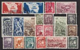 20 Versch. Werte Aus 1948/49, Alle Sauber Gestempelt, Aus 260/88, O - 1947-56 Allierte Besetzung