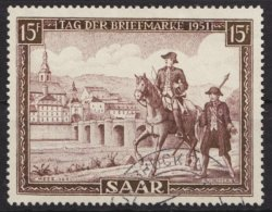 """""""Tag Der Briefmarke"""", 1951, Sauber Gestempelt, 305, O - 1947-56 Allierte Besetzung"""