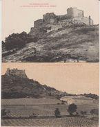 """11 St Martin De Tocque Le Chateau 2 Cpa """"les Châteaux De L'Aude. Sans éditeur Précisé - Otros Municipios"""
