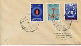 "PARAGUAY - 1960 Universal Declaration Of Human Rights By UN - Inscribed ""DERECHOS HUMANOS""   FDC380 - Paraguay"