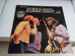 33T Bee Gees - Here At Last...Live - Double Album - Disco & Pop