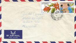 Dominica 1985 La Plaine Girl Guides Scouting Passion Fruit Cover - Dominica (1978-...)