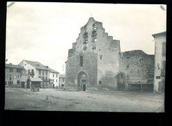 PHT8 - Photo Ancienne 12x17cm, Formiguères, La Place De L'église - Frankreich