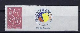 """FR Personnalisés YT 3802B """" Marianne Lamouche 0.82€  Adhésif """" 2005 Neuf** - France"""