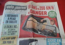 L'Auto-Journal N°362 Octobre 1964 Johnny Hallyday, Fiat 500, Triumph Spitfire, 1000 Km De Paris, Tour De Corse - Auto/Moto