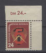DDR Michel No. 293 ** Postfrisch Eckrand - [6] République Démocratique