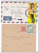 Paraguay, 2 Envelopes - Paraguay