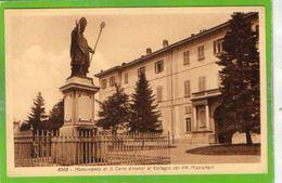 RHO - Monumento Di S. Carlo Dinanzi Al Collegio Dei PP. Missionari - Formato Piccolo - Rho