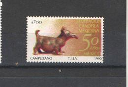 Messico PO 1990 Mostra Canina Scott.1676+ See Scans Nuovi - Mexico