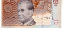 Estonia P.76 5 Krooni 1994 Xf - Estonia