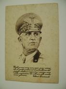 VITTORIO  EMANUELE  VEM     CARTOLINA FRANCHIGIA   MILITARE   NON    VIAGGIATA COME DA FOTO - Guerre 1939-45