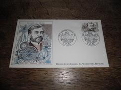 Enveloppe Premier Jour D'émission, Gustave Eiffel 1832-1923, 18 Décembre 1982, Dessin Original Marie Noëlle Goffin - Other