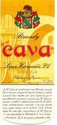 1372 - Espagne - Andalousie - Brandy Cava - López Hermanos S.A. - Málaga - Labels