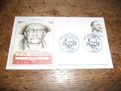 Enveloppe Premier Jour D'émission, Léon Blum 1872-1950, 18 Décembre 1982, Dessin Original Marie Noëlle Goffin - Other