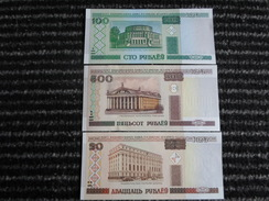 Lot De 3 Billets De Banque état Neuf** - Alla Rinfusa - Banconote