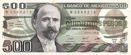 MEXICO 500 PESOS 1984 PICK 79b UNC - Mexico