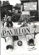 NOGENT SUR MARNE  .. FOIRE A LA FERRAILLE ET AUX JAMBONS .. VENTE DE PIECES DES PAVILLONS BALTARD LE 24 SEPTEMBRE 1971 - Métiers