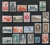 FRANCE - ANNEE COMPLETE 1947 - 21 Timbres Neufs Luxe** Du N° 772 Au N° 792. Voir Descriptif. - 1940-1949
