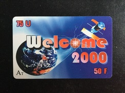 CARTE PREPAYEE WELCOME 2000 - Prepaid Cards: Other