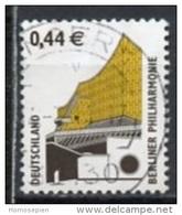Allemagne Fédérale - Germany - Deutschland 2002 Y&T N°2126 - Michel N°2298 (o) - 0,44€ Philarmonie De Berlin - [7] République Fédérale