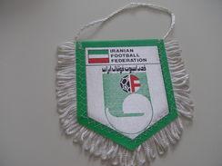 Fanion Football - FEDERATION - IRAN - Habillement, Souvenirs & Autres
