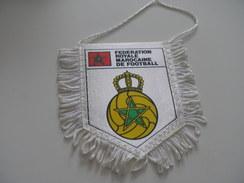 Fanion Football - FEDERATION - MAROC - Habillement, Souvenirs & Autres