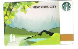 USA - Starbucks - New York City - CN :6076 -  Geschenkgutschein - Giftcard - Gift Card - Gutschein Card - Gift Cards