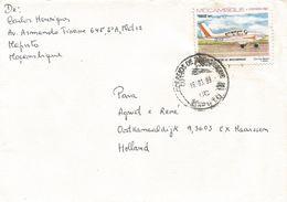 Mozambique 1989 Maputo Aviation Cesna Airplane Cover - Mozambique