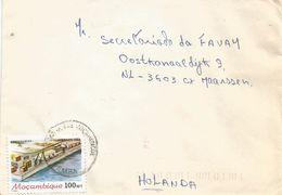Mozambique 1989 Pemba Harbour Cover - Mozambique